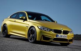 """BMW M3 Sedan và M4 Coupe có tính năng kiểm soát """"đốt lốp"""""""