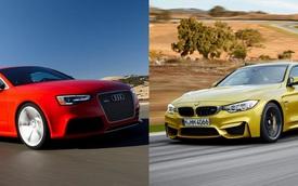 BMW M4 Coupe và Audi RS5 Coupe đọ sức qua ảnh