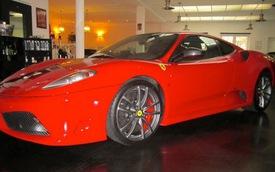 Siêu xe Ferrari 430 Scuderia của Michael Schumacher được rao bán