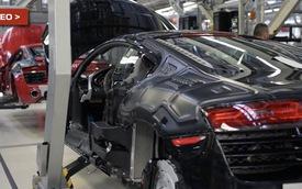 Cận cảnh quá trình Audi R8 ra đời