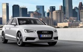 Audi A3 Sedan có giá ngang với Audi A4
