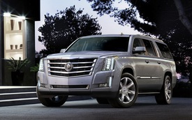 Công bố giá bán Cadillac Escalade 2015