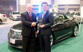 Cadillac ELR giành giải Công nghệ xe xanh của năm 2014