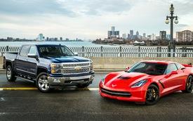 GM đại thắng giải Xe của năm tại Bắc Mỹ