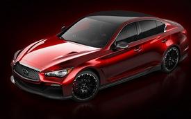 Infiniti Q50 Eau Rouge Concept chính thức lộ diện