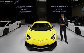 Siêu xe Lamborghini đắt hàng năm 2013
