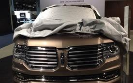 SUV hạng sang Lincoln Navigator 2015 lộ diện trước giờ ra mắt