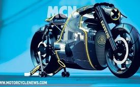 Hé lộ hình ảnh siêu môtô Lotus C-01
