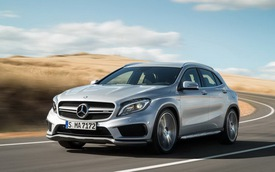 Mercedes-Benz GLA45 AMG: Nhỏ nhưng cực mạnh