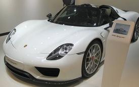 Porsche mang siêu xe 918 Spyder đến Detroit 2014