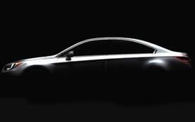 Subaru hé lộ hình ảnh Legacy trước thềm Chicago Auto Show 2014