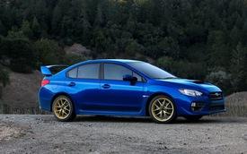 Subaru WRX STI 2015 lộ diện trước giờ G