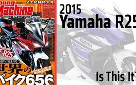 Lộ phiên bản sản xuất Yamaha R25