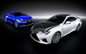 Lexus tung ra gói nâng cấp sợi carbon cho Lexus RC F Coupe