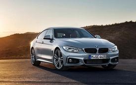 BMW 4-Series Gran Coupe chính thức lộ diện