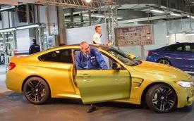 Chiếc BMW M4 Coupe đầu tiên đã xuất xưởng