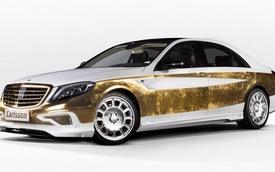 Mercedes-Benz S-Class bọc vàng: Đậm chất quý tộc