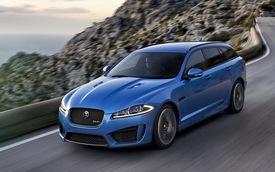 Jaguar XFR-S SportBrake chính thức lộ mặt
