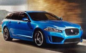 Rò rỉ hình ảnh Jaguar XFR-S Sportbrake