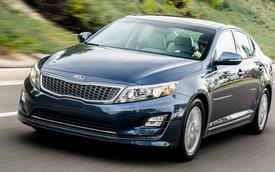 Kia làm mới Optima Hybrid 2014