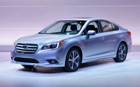 Subaru Legacy 2015 chính thức trình làng