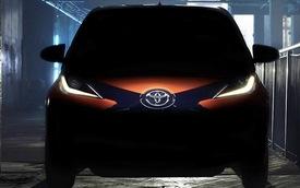 Toyota hé lộ hình ảnh chiếc Aygo mới