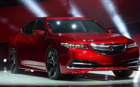 Acura TLX 2015 sẽ ra mắt tại New York