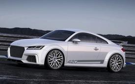 Audi TT Quattro Sport: Bất ngờ của Audi tại Geneva 2014