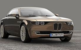 BMW CS Vintage: Hồi sinh huyền thoại BMW E9
