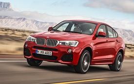 BMW X4 sẵn sàng chinh phục thị trường toàn cầu