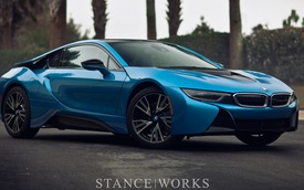 BMW i8 Protonic Blue: Đẹp ngỡ ngàng