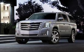 Cadillac Escalade 2015 có giá từ 72.690 USD