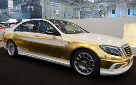 Ngắm Mercedes-Benz S-Class phiên bản vàng của Carlsson