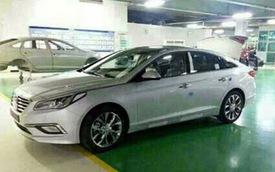 Ảnh sống Hyundai Sonata 2015
