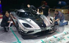 Ảnh sống Koenigsegg One:1 tại Geneva