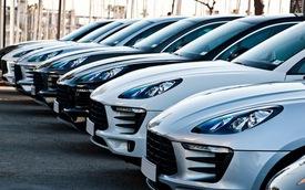 40 chiếc Porsche Macan cùng xuất hiện tại Barcelona