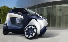 Toyota i-Road bắt đầu đi vào thử nghiệm