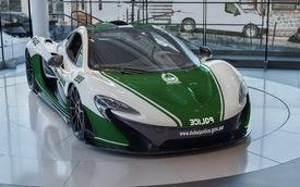 """Ngắm LaFerrari và McLaren P1 trong """"màu áo"""" Cảnh sát Dubai"""