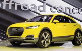 Audi TT Offroad Concept trình làng tại Bắc Kinh