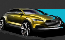 Audi TT Crossover Concept: Diện mạo tương lai của Audi Q4
