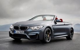 BMW chính thức công bố giá bán của M4 Convertible