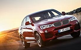 BMW X4 có giá từ 45.625 USD