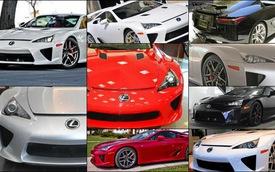Hàng loạt siêu xe Lexus LFA bị rao bán