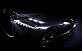 Hé lộ phiên bản sản xuất của Lexus NX