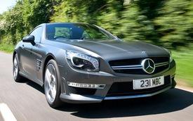 Mercedes-Benz SL63 AMG sẽ mạnh mẽ hơn