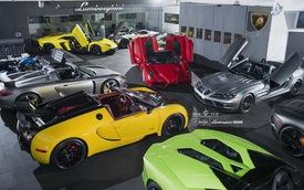 Ghé thăm showroom siêu xe trị giá 8,5 triệu USD