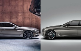 BMW Vision Future Luxury đọ sắc cùng Gran Lusso Coupe