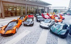 Dàn siêu xe khủng hội ngộ tại Hồng Kông