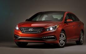 """Hyundai Sonata 2015 """"bản quốc tế"""" chính thức ra mắt"""