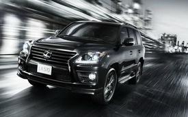 Lexus trình làng LX570 mới mạnh mẽ hơn